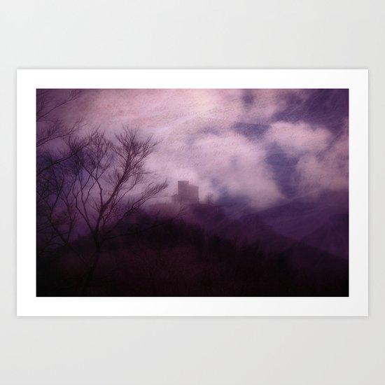 Mystical Castle  - JUSTART © Art Print