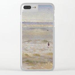 Coastal scene Clear iPhone Case