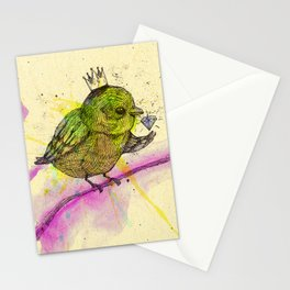King Bird Stationery Cards