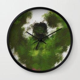 Smashing Green Wall Clock