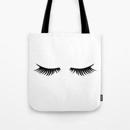 Lashes Tote Bag