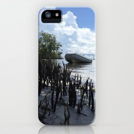 Dinghy in the Mangroves iPhone Case