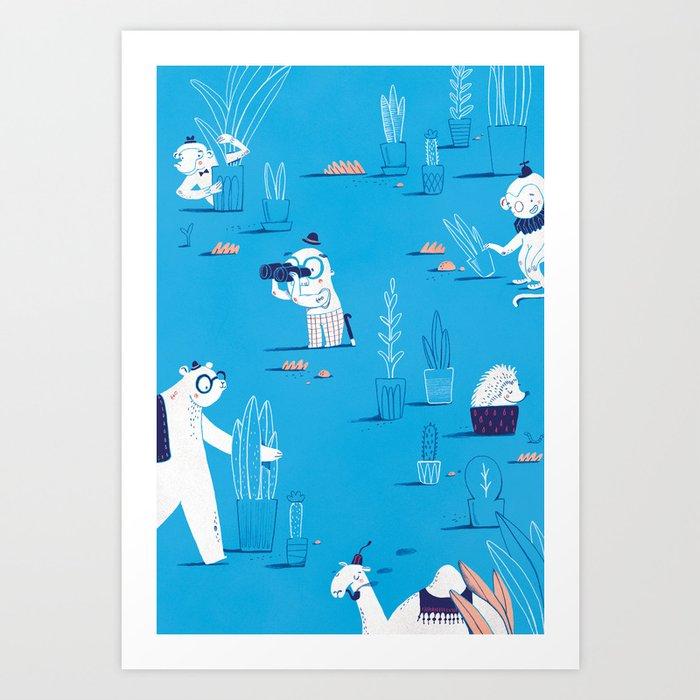 ABC print #2 Art Print