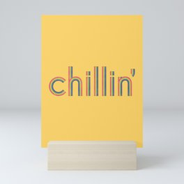 Chillin' Mini Art Print