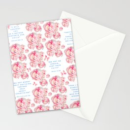 Wrap yourself in the promises of God Stationery Cards