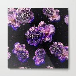 Rose pattern Metal Print
