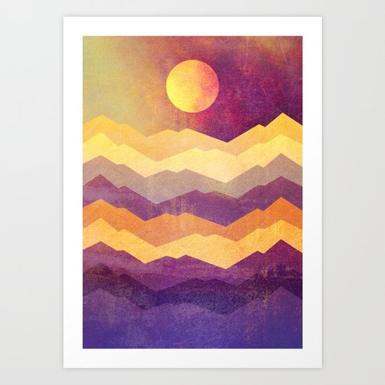 Magic Hour - The Sun Art Print
