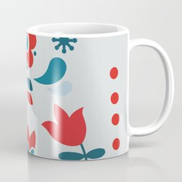 Retro Nordic Folk Coffee Mug