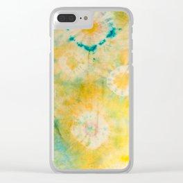 zen garden Clear iPhone Case