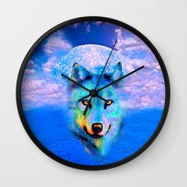 WOLF #2 Wall Clock