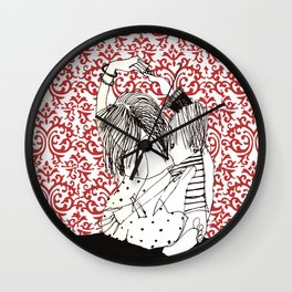 It takes two to tango! Wall Clock