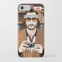 tenenbaum iPhone & iPod Cases featuring Richie Tenenbaum by The Art Warriors
