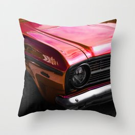 Candied red classic Throw Pillow