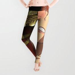 Hentai Girl With Sheathed Katana Stuck Between Tits Ultra HD Leggings