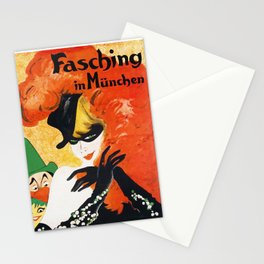 Carnival in Munich Germany 1930 Stationery Cards