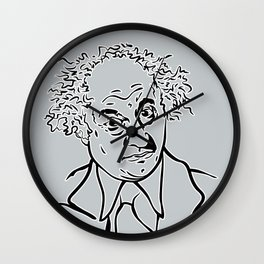 Face Larry Wall Clock