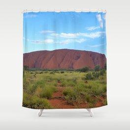 Uluru - Australia Shower Curtain