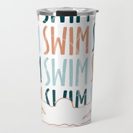 swimming lifeguard baywatch swimmer gift crawl pool lake Travel Mug