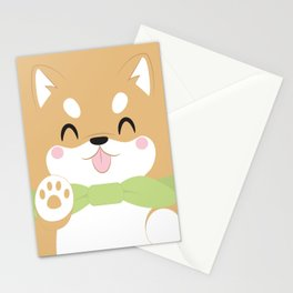 Shiba Inu Block Stationery Cards