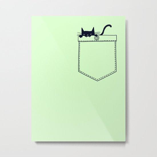 Po(CAT) Metal Print