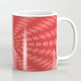 Succulent Red and Yellow Flower Abstract  Coffee Mug