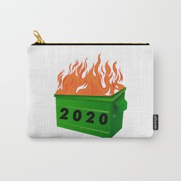 Dumpster Fire 2020 Funny Meme Viral Quarantine Carry-All Pouch