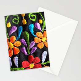 Mexican Flowers Stationery Cards