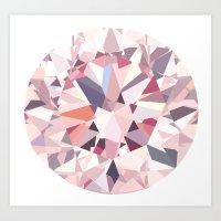 diamond Art Prints featuring diamond by Kazuma Shimizu