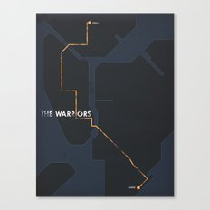 The Warriors Canvas Print
