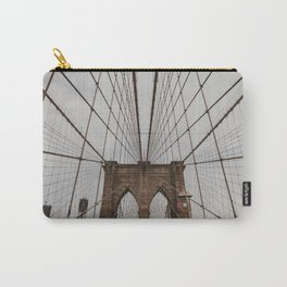 Brooklyn Bridge NYC | Fine Art Travel Photography Carry-All Pouch