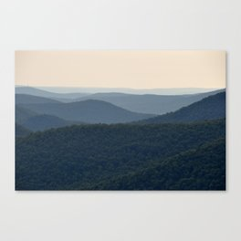 Morning Mountains Canvas Print