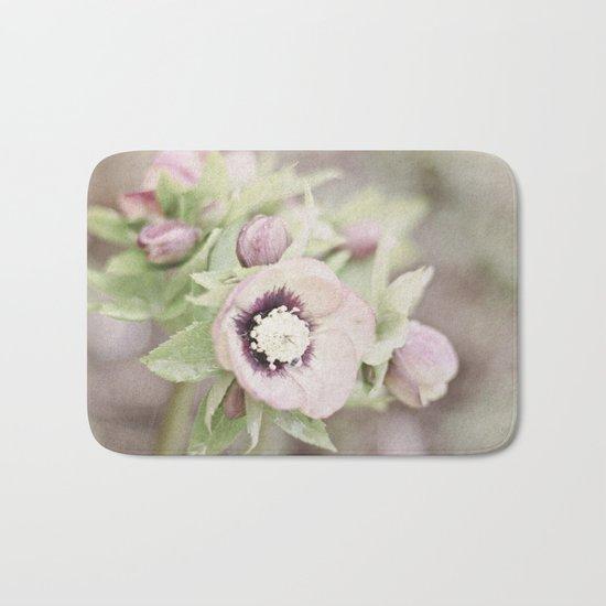 Pastel Flowers Bath Mat