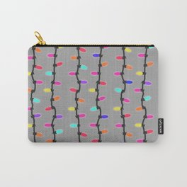 Party lights! purple Carry-All Pouch