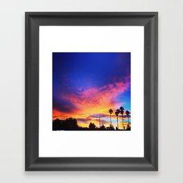 California Sunrising Framed Art Print