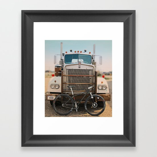 Duel Framed Art Print
