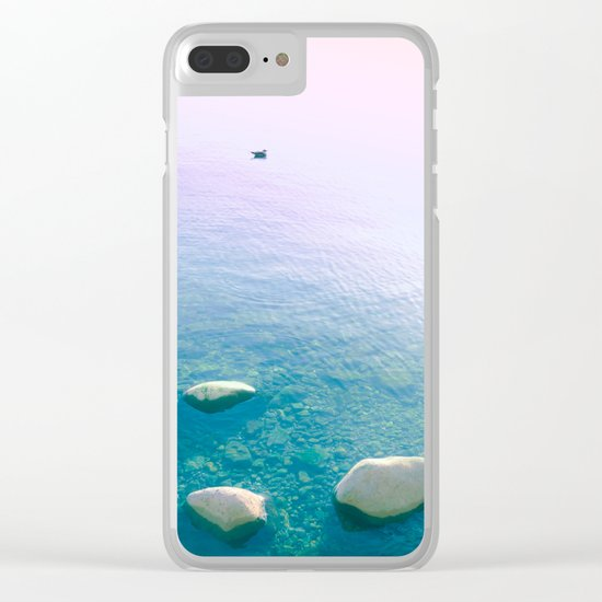 My Islands My Dreams Clear iPhone Case