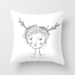 They Came Last Night Throw Pillow