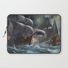 Fascinating Fearsome Frigate Sail Ship Sea Battle Ultra HD Laptop Sleeve