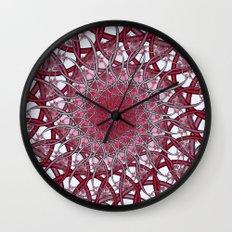 Spiraling infinity Wall Clock
