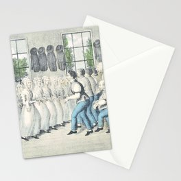 Nathaniel Currier - Shakers Near Lebanon - Digital Remastered Edition Stationery Cards