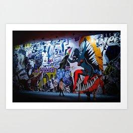 New York City - Night Visions Art Print