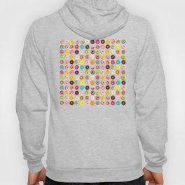 Funny Pattern With Juicy And Tasty Donuts Hoody