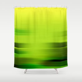 """Abstract Lake Porstroke (Pattern)"" Shower Curtain"
