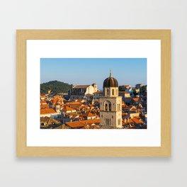 DUBROVNIK 04 Framed Art Print