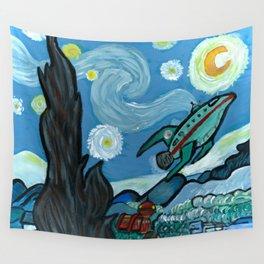 Starry Flight Wall Tapestry
