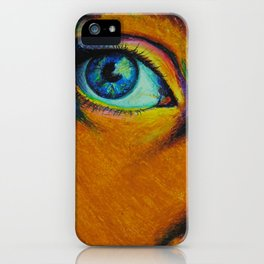Stare iPhone Case
