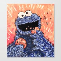 cookies Canvas Prints featuring Cookies! by MSG Imaging