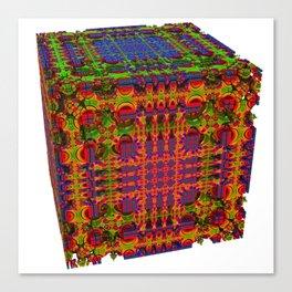 Tech Cubicles | 3D Fractal Canvas Print