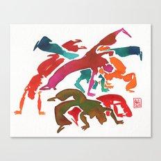 Capoeira 243 Canvas Print