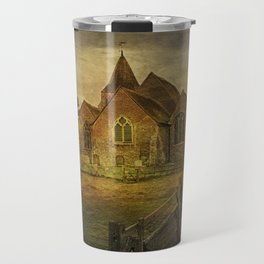 St Clement's Old Romney From The East Travel Mug
